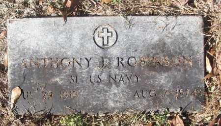 ROBINSON (VETERAN), ANTHONY E - White County, Arkansas | ANTHONY E ROBINSON (VETERAN) - Arkansas Gravestone Photos