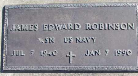 ROBINSON (VETERAN), JAMES EDWARD - White County, Arkansas | JAMES EDWARD ROBINSON (VETERAN) - Arkansas Gravestone Photos