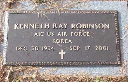 ROBINSON (VETERAN KOR), KENNETH RAY - White County, Arkansas | KENNETH RAY ROBINSON (VETERAN KOR) - Arkansas Gravestone Photos