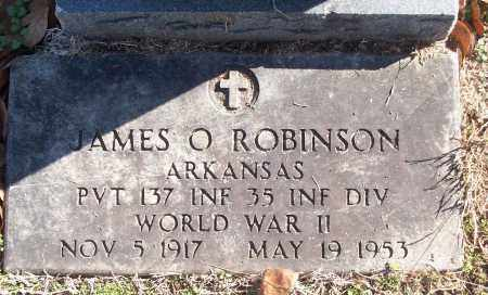 ROBINSON (VETERAN WWII), JAMES O - White County, Arkansas | JAMES O ROBINSON (VETERAN WWII) - Arkansas Gravestone Photos