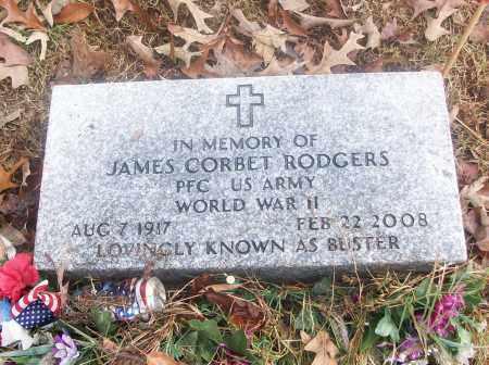 RODGERS  (VETERAN WWII), JAMES CORBET - White County, Arkansas | JAMES CORBET RODGERS  (VETERAN WWII) - Arkansas Gravestone Photos