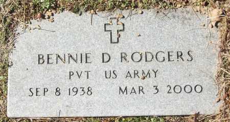 RODGERS, BENNIE D. - White County, Arkansas | BENNIE D. RODGERS - Arkansas Gravestone Photos