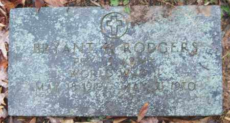 RODGERS (VETERAN WWII), BRYANT H - White County, Arkansas | BRYANT H RODGERS (VETERAN WWII) - Arkansas Gravestone Photos
