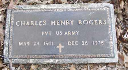 ROGERS (VETERAN), CHARLES HENRY - White County, Arkansas | CHARLES HENRY ROGERS (VETERAN) - Arkansas Gravestone Photos