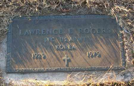 ROGERS (VETERAN KOR), LAWRENCE E - White County, Arkansas | LAWRENCE E ROGERS (VETERAN KOR) - Arkansas Gravestone Photos