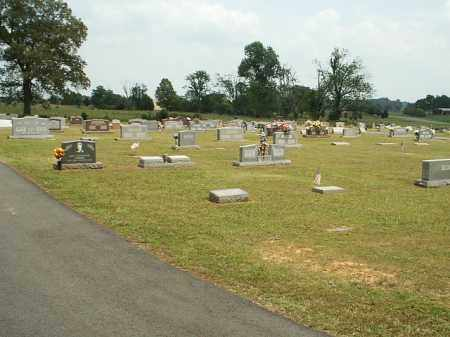 *ROMANCE CEMETERY OVERVIEW,  - White County, Arkansas |  *ROMANCE CEMETERY OVERVIEW - Arkansas Gravestone Photos