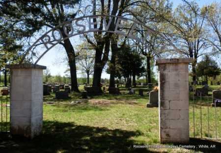 *ROOSEVELT CEMETERY,  - White County, Arkansas |  *ROOSEVELT CEMETERY - Arkansas Gravestone Photos