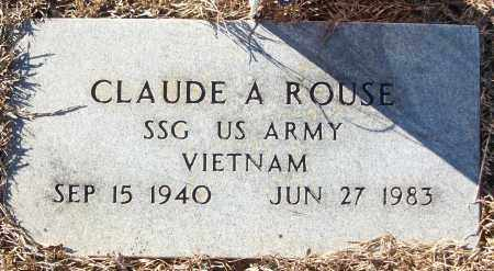 ROUSE (VETERAN VIET), CLAUDE A - White County, Arkansas | CLAUDE A ROUSE (VETERAN VIET) - Arkansas Gravestone Photos
