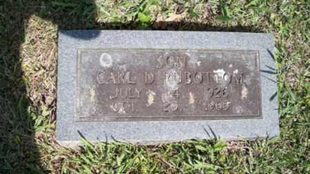 RUBOTTOM, CARL D - White County, Arkansas | CARL D RUBOTTOM - Arkansas Gravestone Photos