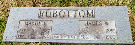 RUBOTTOM, MARTIE E. - White County, Arkansas | MARTIE E. RUBOTTOM - Arkansas Gravestone Photos
