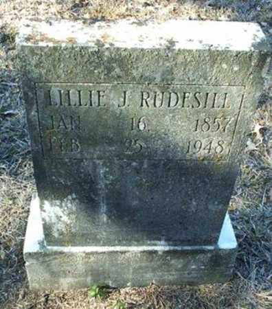 MANGIS RUDESILL, LILLIE JANE - White County, Arkansas | LILLIE JANE MANGIS RUDESILL - Arkansas Gravestone Photos
