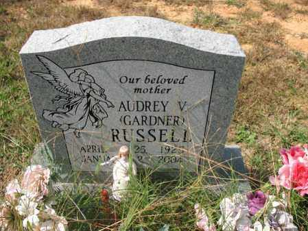 RUSSELL, AUDREY V - White County, Arkansas | AUDREY V RUSSELL - Arkansas Gravestone Photos