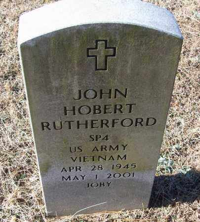 RUTHERFORD (VETERAN VIET), JOHN HOBERT - White County, Arkansas | JOHN HOBERT RUTHERFORD (VETERAN VIET) - Arkansas Gravestone Photos
