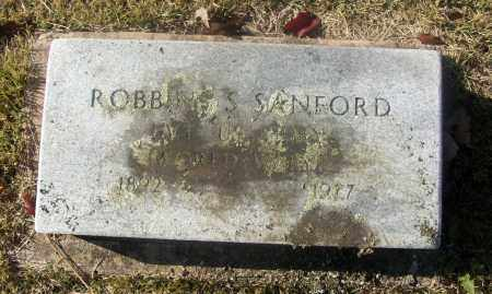 SANFORD  (VETERAN WWI), ROBBINS S - White County, Arkansas | ROBBINS S SANFORD  (VETERAN WWI) - Arkansas Gravestone Photos