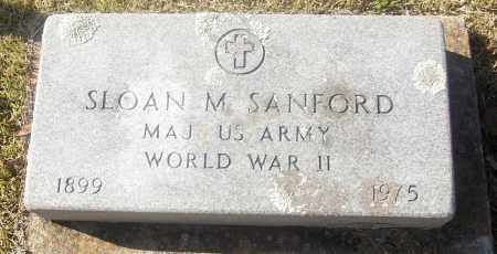 SANFORD  (VETERAN WWII), SLOAN M - White County, Arkansas | SLOAN M SANFORD  (VETERAN WWII) - Arkansas Gravestone Photos