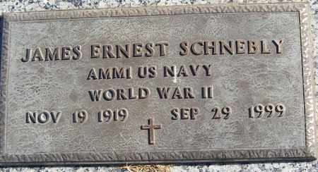 SCHNEBLY (VETERAN WWII), JAMES ERNEST - White County, Arkansas | JAMES ERNEST SCHNEBLY (VETERAN WWII) - Arkansas Gravestone Photos