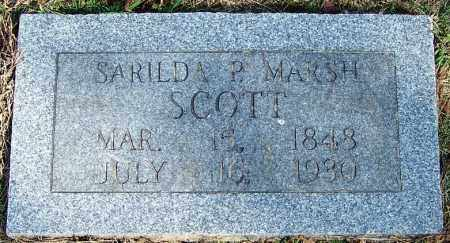SCOTT, SARILDA P - White County, Arkansas | SARILDA P SCOTT - Arkansas Gravestone Photos