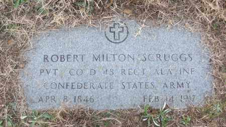 SCRUGGS (VETERAN CSA), ROBERT MILTON - White County, Arkansas   ROBERT MILTON SCRUGGS (VETERAN CSA) - Arkansas Gravestone Photos