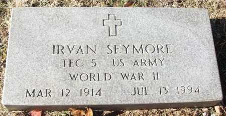 SEYMORE (VETERAN WWII), IRVAN - White County, Arkansas | IRVAN SEYMORE (VETERAN WWII) - Arkansas Gravestone Photos
