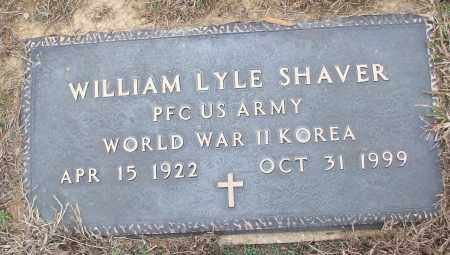 SHAVER (VETERAN 2 WARS), WILLIAM LYLE - White County, Arkansas | WILLIAM LYLE SHAVER (VETERAN 2 WARS) - Arkansas Gravestone Photos
