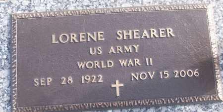 SHEARER (VETERAN WWII), LORENE - White County, Arkansas | LORENE SHEARER (VETERAN WWII) - Arkansas Gravestone Photos