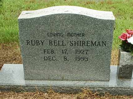 SHIREMAN, RUBY BELL - White County, Arkansas | RUBY BELL SHIREMAN - Arkansas Gravestone Photos