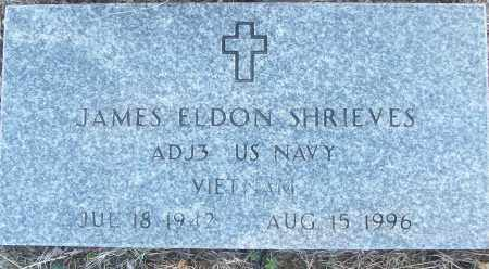 SHRIEVES (VETERAN VIET), JAMES ELDON - White County, Arkansas | JAMES ELDON SHRIEVES (VETERAN VIET) - Arkansas Gravestone Photos