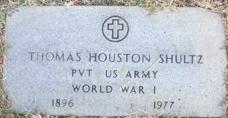 SHULTZ (VETERAN WWI), THOMAS HOUSTON - White County, Arkansas | THOMAS HOUSTON SHULTZ (VETERAN WWI) - Arkansas Gravestone Photos