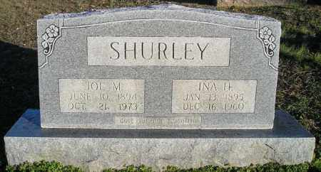 SHURLEY, INA H - White County, Arkansas | INA H SHURLEY - Arkansas Gravestone Photos