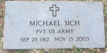 SICH (VETERAN), MICHAEL - White County, Arkansas | MICHAEL SICH (VETERAN) - Arkansas Gravestone Photos