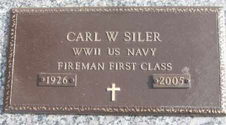 SILER (VETERAN WWII), CARL W - White County, Arkansas | CARL W SILER (VETERAN WWII) - Arkansas Gravestone Photos