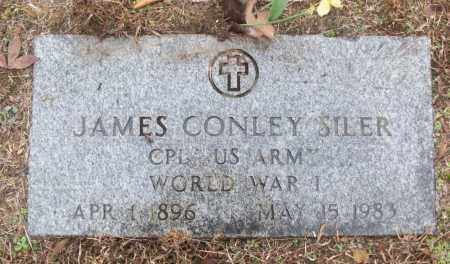 SILER (VETERAN WWI), JAMES CONLEY - White County, Arkansas | JAMES CONLEY SILER (VETERAN WWI) - Arkansas Gravestone Photos