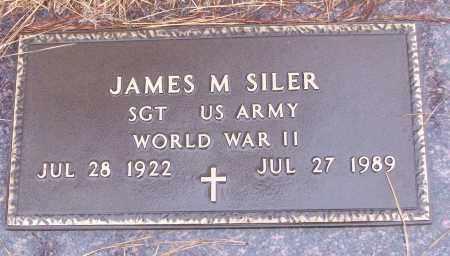 SILER (VETERAN WWII), JAMES M - White County, Arkansas | JAMES M SILER (VETERAN WWII) - Arkansas Gravestone Photos