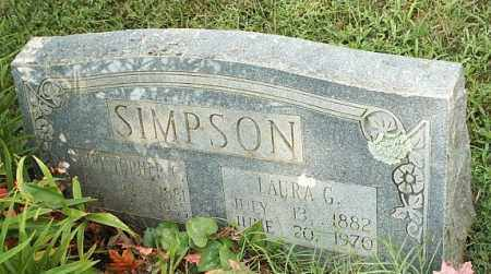 SIMPSON, CHRISTOPHER C - White County, Arkansas | CHRISTOPHER C SIMPSON - Arkansas Gravestone Photos