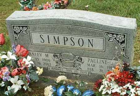 SIMPSON, PAULINE J - White County, Arkansas | PAULINE J SIMPSON - Arkansas Gravestone Photos