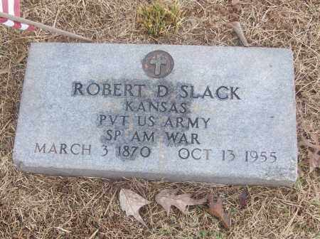 SLACK  (VETERAN SAW), ROBERT D - White County, Arkansas | ROBERT D SLACK  (VETERAN SAW) - Arkansas Gravestone Photos