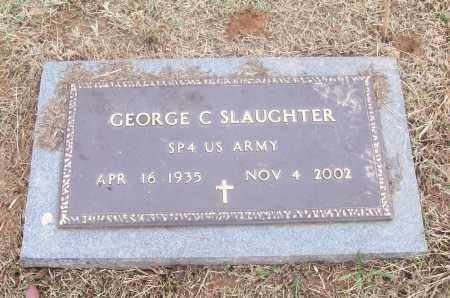 SLAUGHTER  (VETERAN), GEORGE C - White County, Arkansas | GEORGE C SLAUGHTER  (VETERAN) - Arkansas Gravestone Photos
