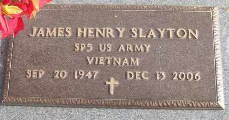 SLAYTON (VETERAN VIET), JAMES HENRY - White County, Arkansas | JAMES HENRY SLAYTON (VETERAN VIET) - Arkansas Gravestone Photos