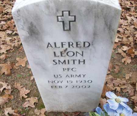 SMITH  (VETERAN), ALFRED LEON - White County, Arkansas | ALFRED LEON SMITH  (VETERAN) - Arkansas Gravestone Photos