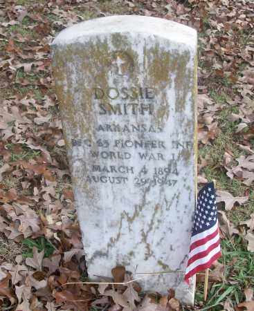 SMITH  (VETERAN WWI), DOSSIE - White County, Arkansas | DOSSIE SMITH  (VETERAN WWI) - Arkansas Gravestone Photos