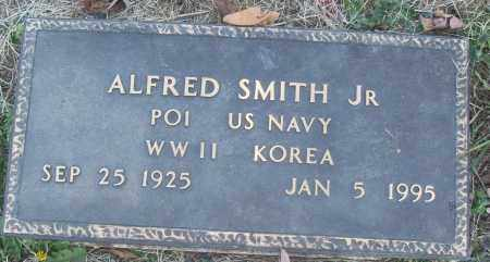 SMITH, JR (VETERAN 2 WARS), ALFRED - White County, Arkansas | ALFRED SMITH, JR (VETERAN 2 WARS) - Arkansas Gravestone Photos