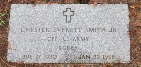 SMITH, JR (VETERAN KOR), CHESTER EVERETT - White County, Arkansas | CHESTER EVERETT SMITH, JR (VETERAN KOR) - Arkansas Gravestone Photos