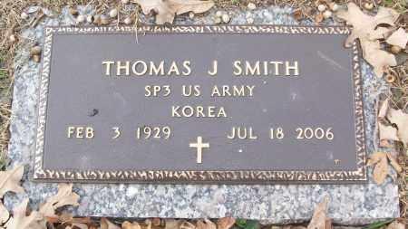 SMITH (VETERAN KOR), THOMAS J - White County, Arkansas | THOMAS J SMITH (VETERAN KOR) - Arkansas Gravestone Photos