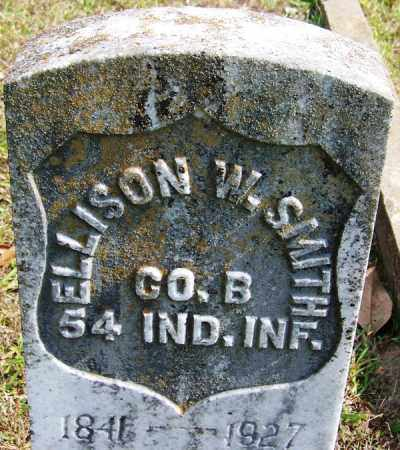 SMITH (VETERAN UNION), ELLISON W - White County, Arkansas | ELLISON W SMITH (VETERAN UNION) - Arkansas Gravestone Photos