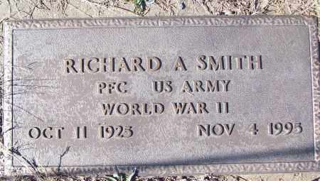 SMITH (VETERAN WWII), RICHARD A - White County, Arkansas | RICHARD A SMITH (VETERAN WWII) - Arkansas Gravestone Photos