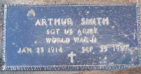 SMITH (VETERAN WWII), ARTHUR - White County, Arkansas | ARTHUR SMITH (VETERAN WWII) - Arkansas Gravestone Photos