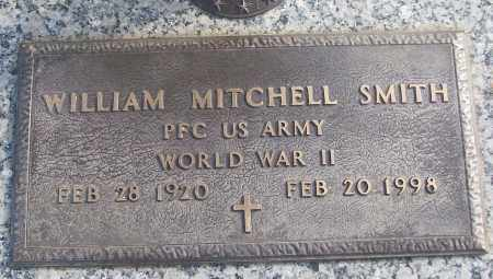 SMITH (VETERAN WWII), WILLIAM MITCHELL - White County, Arkansas | WILLIAM MITCHELL SMITH (VETERAN WWII) - Arkansas Gravestone Photos