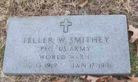 SMITHEY (VETERAN WWII), FELLER W - White County, Arkansas | FELLER W SMITHEY (VETERAN WWII) - Arkansas Gravestone Photos