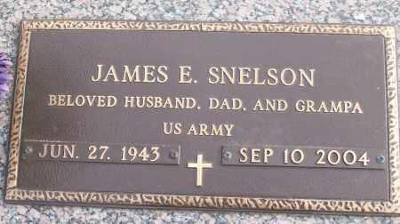 SNELSON (VETERAN), JAMES E - White County, Arkansas | JAMES E SNELSON (VETERAN) - Arkansas Gravestone Photos