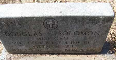 SOLOMON (VETERAN VIET, KIA), DOUGLAS EDWARD - White County, Arkansas | DOUGLAS EDWARD SOLOMON (VETERAN VIET, KIA) - Arkansas Gravestone Photos